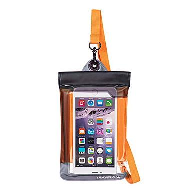 olcso Univerzális tokok és táskák-Case Kompatibilitás Univerzális Univerzalno Vízálló Vízálló erszény Egyszínű Puha PVC