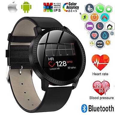 رخيصةأون ساعات ذكية-a18 الفولاذ المقاوم للصدأ smartwatch bt اللياقة البدنية تعقب دعم إخطار / قياس ضغط الدم الرياضية ووتش الذكية للهواتف سامسونج / فون / الروبوت