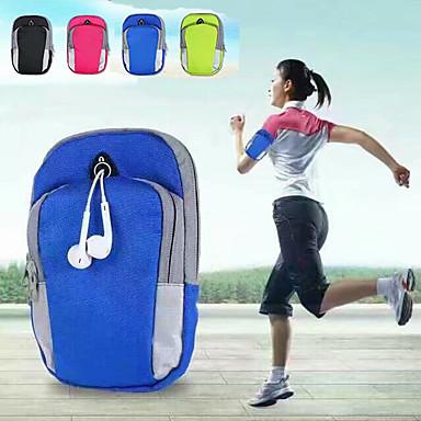 Недорогие Универсальные чехлы и сумочки-нейлоновый чехол для универсального держателя карты / спортивная повязка повязка однотонная мягкая тренировка