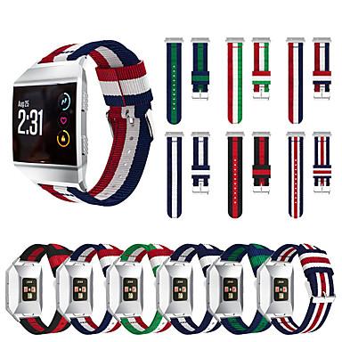 Недорогие Аксессуары для смарт-часов-Ремешок для часов для Fitbit ionic Fitbit Спортивный ремешок Нейлон Повязка на запястье