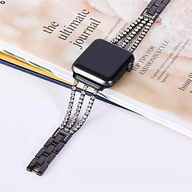 Недорогие Аксессуары для смарт-часов-ремешок для часов для яблока серии 4/3/2/1 яблоко ювелирный дизайн браслет из нержавеющей стали