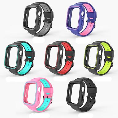 Недорогие Ремешки для Apple Watch-SmartWatch Band для Apple Watch серии 4 IWATCH ремешок плюс корпус часов набор 40/44 мм