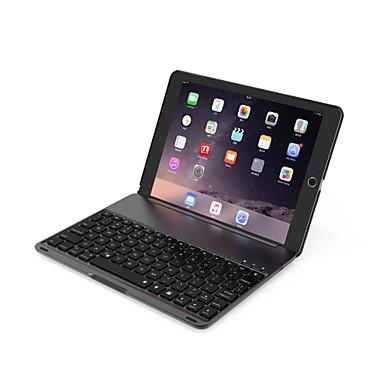 olcso iPad tokok-bluetooth mechanikus billentyűzet / irodai billentyűzet újratölthető / fedő / vékony ipad air / ios bluetooth3.0