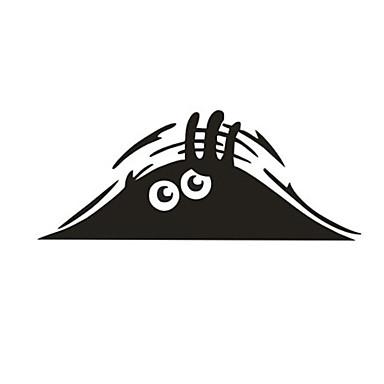 olcso Autóipari külső kiegészítők-Fekete Autómatricák Rajzfilmfigura Ajtó matricák Rajzfilm Matricák