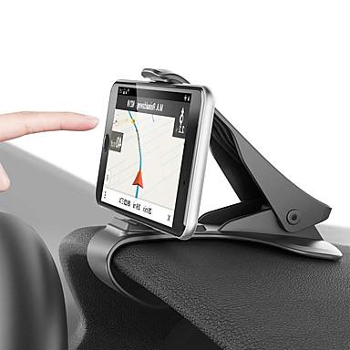 olcso Beltéri autós kiegészítők-autó tartó klip szerelvény műszerfal autós telefon tartó 360 forgatható állványra szerelhető kijelző gps konzol