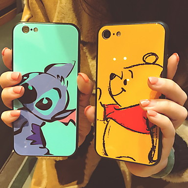 voordelige iPhone-hoesjes-hoesje Voor Apple iPhone XS / iPhone XR / iPhone XS Max Patroon Achterkant Cartoon Hard Gehard glas