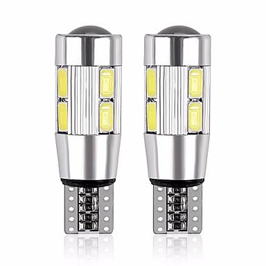 voordelige Autobinnenverlichting-2pcs T10 Motor / Automatisch Lampen 5 W SMD 5630 480 lm 10 LED Nummerplaatverlichting / Werklamp / Achterlicht Voor Universeel Alle jaren