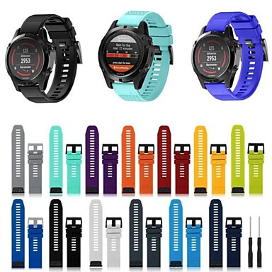 cheap Mobile Phone Accessories-Watch Band for Approach S6 / Approach S5 / Approach S20 Garmin Sport Band Silicone Wrist Strap