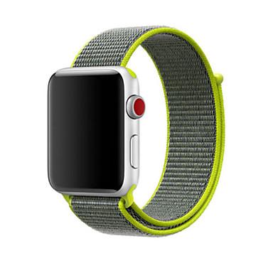 voordelige Smartwatch-accessoires-mode eenvoudige vervanging nylon polsband band polsband armband voor apple horloge