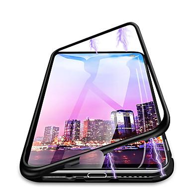 Недорогие Чехлы и кейсы для Galaxy S-Кейс для Назначение SSamsung Galaxy Galaxy S10 Plus Защита от пыли / Защита от влаги Чехол Однотонный Твердый Закаленное стекло