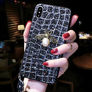 Недорогие Кейсы для iPhone 6-чехол для яблока iphone xs / iphone xs max противоударная задняя крышка для животных жесткое закаленное стекло для iphone xs / iphone xs max