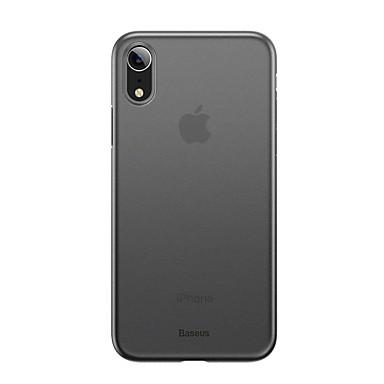 Недорогие Кейсы для iPhone-Кейс для Назначение Apple iPhone XS / iPhone XR / iPhone XS Max Матовое Кейс на заднюю панель Однотонный Твердый пластик