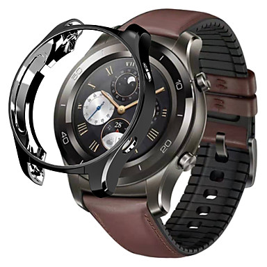 voordelige Smartwatch-accessoires-hoesje Voor Huawei Watch 2 Pro Siliconen Huawei