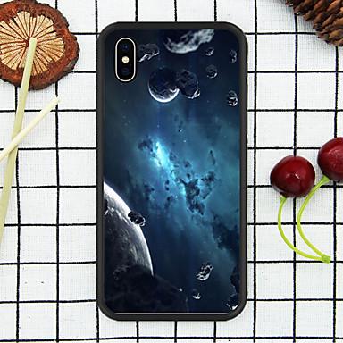 Недорогие Кейсы для iPhone 6-чехол для яблока iphone xr / iphone xs max шаблон задней обложки sky soft tpu для iphonex / xs / xr / xs max / 7p / 8p / 6p / 8/7/6