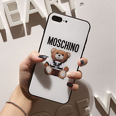 voordelige iPhone-hoesjes-hoesje Voor Apple iPhone XS / iPhone XR / iPhone XS Max Spiegel / Patroon Achterkant Cartoon Hard Gehard glas