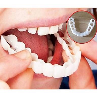 povoljno Zdravlje i ljepota-izbjeljivanje snap savršen osmijeh zubi lažni zub poklopac na osmijeh instant zubi kozmetičke njege proteze za gornju jednu veličinu odgovara