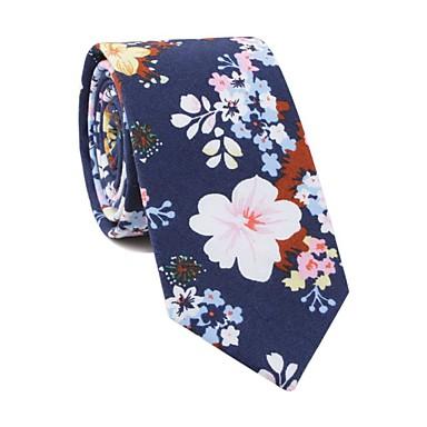 ربطة العنق ورد / طباعة رجالي حفلة / رياضي Active