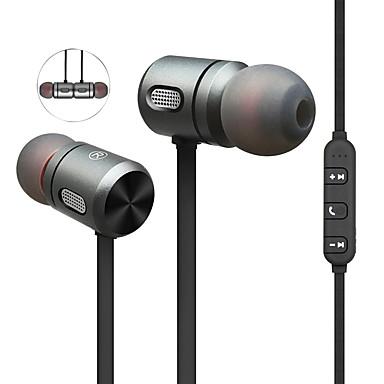 رخيصةأون سماعات الأذن السلكية-المغناطيس اللاسلكية بلوتوث سماعة سماعة ستيريو باس سماعة الرأس