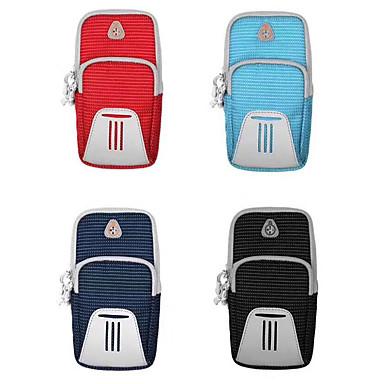 Недорогие Универсальные чехлы и сумочки-нейлоновый чехол для универсального держателя карты / спортивная повязка на руку повязка сплошного цвета мягкая тренировка свечение в темноте