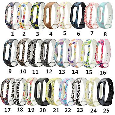 voordelige Horlogebandjes voor Xiaomi-horloge siliconen voor xiaomi mi band 2 slimme horloge polsbandje riem kleurrijke polsbandje