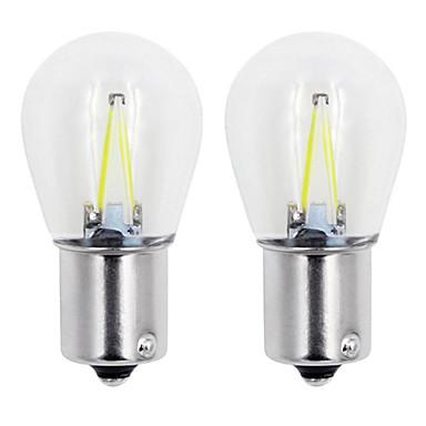 Недорогие Огни для авто-1шт 1156/1157 автомобильные лампочки 2 Вт, 160 лм 2 светодиодные указатели поворота / стоп-сигналы / фонари заднего хода (универсальный) для универсальных на все годы