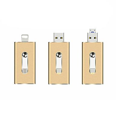 povoljno USB memorije-litbest otg usb bljesak voziti primijeniti na jabuka android usb 3 u 1 metal u disk-32gb