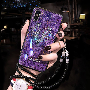 voordelige iPhone-hoesjes-hoesje voor apple iphone xs / iphone xr / iphone xs max / iphone 8 / iphone 8 plus / iphone 7 plus / iphone x / iphone 7 / iphone 6s plus / iphone 6s / 6 patroon schokbestendige achterkant siliconen