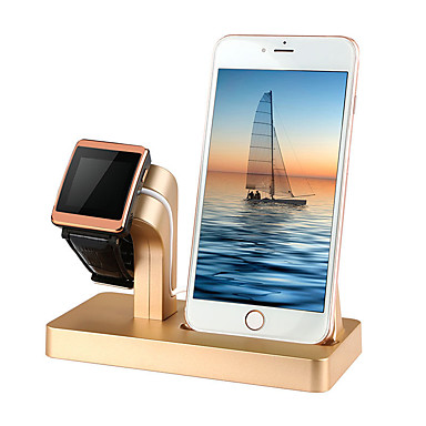 Недорогие Крепления и держатели для Apple Watch-Apple Watch Стенд с адаптером Пластиковые & Металл Стол / Автомобиль