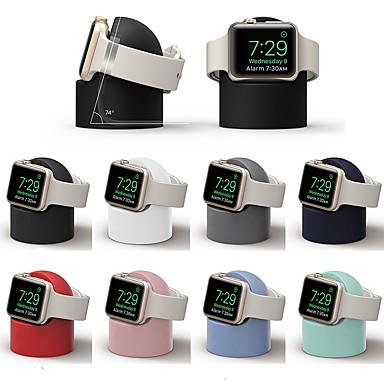 Недорогие Крепления и держатели для Apple Watch-стойка all-in-1 для силикагеля для Apple Watch серии 4/3/2/1 с беспроводной зарядкой