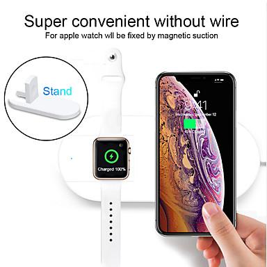 voordelige Smartwatch-accessoires-floveme 10w telefoonhouder standaard lader 7.5w snellader voor Apple Watch 5 4 3 2 iphone11 11pro 11 pro max xs max xr 8 plus x xs airpods 1 2 pro