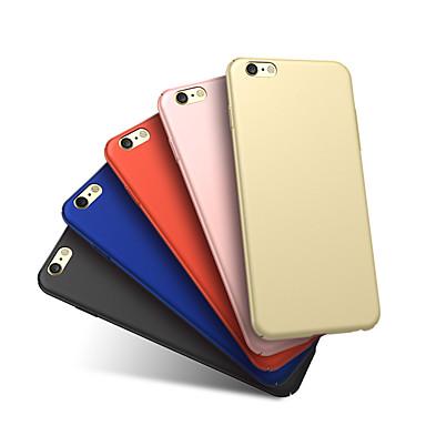 Недорогие Чехлы и кейсы для Galaxy А-Кейс для Назначение SSamsung Galaxy A7 Защита от удара / Матовое Кейс на заднюю панель Однотонный Твердый пластик
