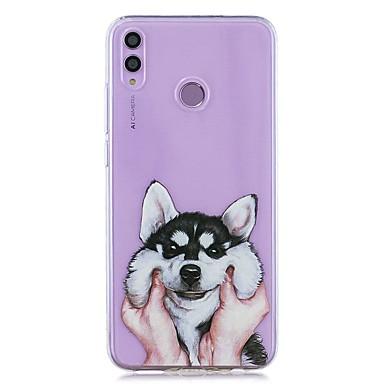 رخيصةأون Huawei أغطية / كفرات-حافظة لهواوي الشرف 8x / huawei p smart (2019) / غطاء خلفي شفاف مصنوع من مادة صلبة لينة لجهاز mate10 pro / mate10 lite / y6 (2018) / y5 (2018) / p20 lite / p smart / p20 pro