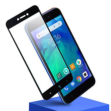 Недорогие Защитные плёнки для экранов Xiaomi-защитная пленка для xiaomi redmi go полностью закаленное стекло 1 шт передняя защитная пленка высокого разрешения (hd) / твердость 9 ч / взрывозащищенный