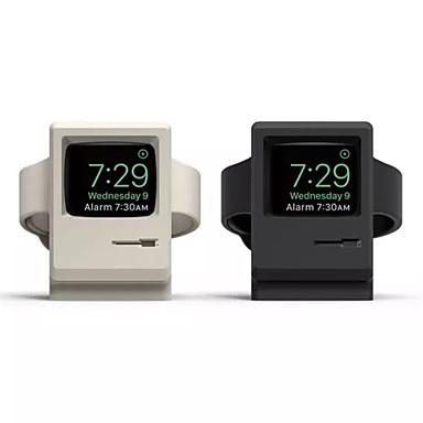 Недорогие Крепления и держатели для Apple Watch-подставка для зарядки часов apple смотреть все-в-1 стол / кровать из чистого силикагеля