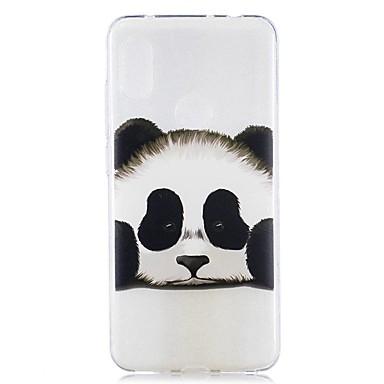 Недорогие Чехлы и кейсы для Xiaomi-чехол для xiaomi mi 8 lite / redmi 6 pro pattern / прозрачная задняя крышка panda soft tpu для redmi note 6 pro / redmi 6a / redmi 6 / redmi 5plus / redmi 5 / redmi 5a