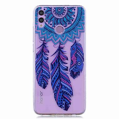 voordelige Huawei Mate hoesjes / covers-hoesje voor huawei honor 8x / huawei p smart (2019) patroon / transparante achterkant dream catcher zachte tpu voor mate20 lite / mate10 lite / y6 (2018) / p20 lite / nova 3i / p smart / p20 pro