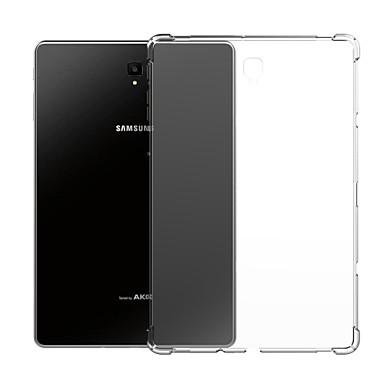 غطاء من أجل Samsung Galaxy Tab S4 10.5 (2018) / Tab A2 10.5 (2018) T595 T590 / Tab S3 9.7 ضد الصدمات / شفاف غطاء خلفي لون سادة ناعم TPU