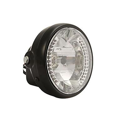 voordelige Motorverlichting-Universele 7 inch motorfiets atv koplamp koplamp led bochtverlichting met montagebeugels