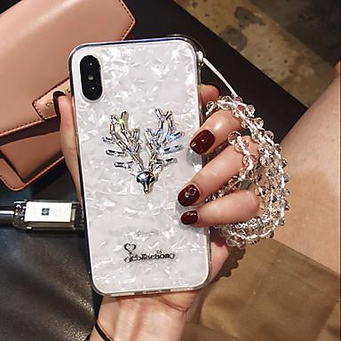 voordelige iPhone-hoesjes-hoesje Voor Apple iPhone XS / iPhone XR / iPhone XS Max Schokbestendig Achterkant dier Zacht silica Gel