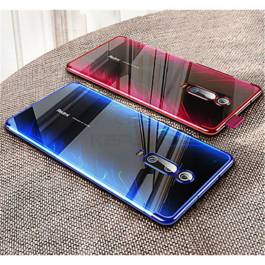 Недорогие Чехлы и кейсы для Xiaomi-Кейс для Назначение Xiaomi Xiaomi Redmi Note 7 / Xiaomi Redmi Note 7 Pro / Xiaomi Redmi 7 Покрытие / Прозрачный Кейс на заднюю панель Однотонный Мягкий ТПУ