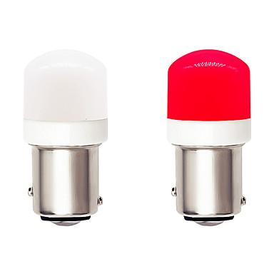 Недорогие Противотуманные фары-Супер яркий 1157 bay15d автомобиль светодиодные лампочки canbus 9-30 В постоянного тока 4.5 Вт керамика smd 3030 6 светодиодный белый красный для указателей поворота фары тормозные огни стояночный