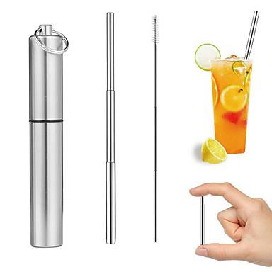 olcso Szívószálak-drinkware Szívószálak Rozsdamentes acél Hordozható Party / estély / Ajándék