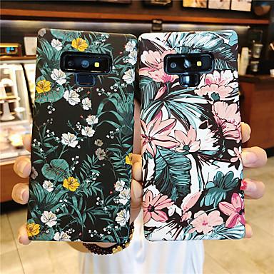 voordelige Galaxy Note-serie hoesjes / covers-hoesje Voor Samsung Galaxy Note 9 / Note 8 Mat / Patroon Achterkant Bloem Hard PC