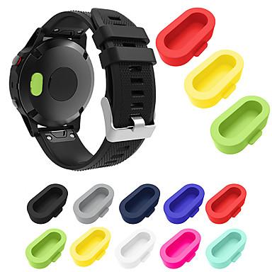 Χαμηλού Κόστους Περιπτώσεις Smartwatch-θήκη για σκόνη σκόνης για garmin fenix 5x / fenix 5x plus / προσέγγιση s60 βύσμα σιλικόνης 10 τεμ