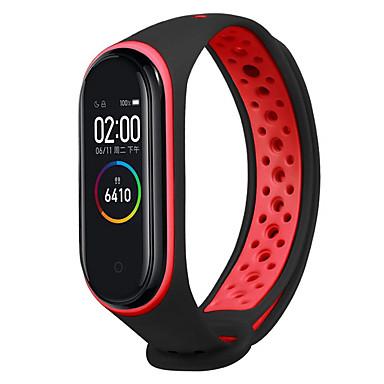 voordelige Smartwatch-accessoires-Horlogeband voor Mi Band 3 / Xiaomi Band 4 Xiaomi Sportband Silicone Polsband