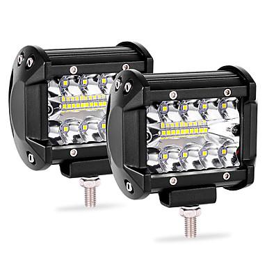 levne Pracovní osvětlení-auto světla světla led světla bar 2ks 20led 60w pásek světla 4 palce bodové světlo ip68