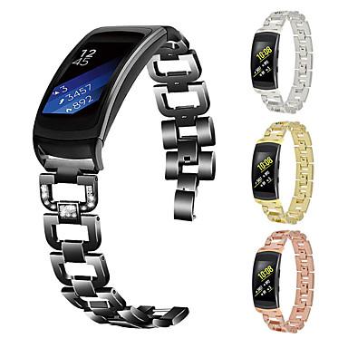 voordelige Horlogebandjes voor Samsung-horlogeband voor gear fit2 pro samsung galaxy butterfly gesp roestvrij stalen polsband
