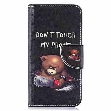 Недорогие Чехлы и кейсы для Galaxy S-Кейс для Назначение SSamsung Galaxy S9 / S9 Plus / S8 Plus Кошелек / Бумажник для карт / со стендом Чехол Слова / выражения Твердый Кожа PU