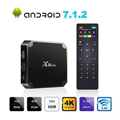 رخيصةأون صناديق التلفاز-x96 mini android box box x96mini android 7.1 صندوق التلفزيون الذكي 2 جيجابايت 16 جيجابايت