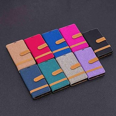 Недорогие Чехлы и кейсы для Sony-чехол для Sony Xperia XA2 Ultra / Xperia 10 магнитных / флип / с подставкой для всего тела